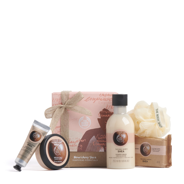 Set Gift Nourishing Shea Pampering Essentials