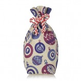 Set Gift Rich Plum Festive Sack