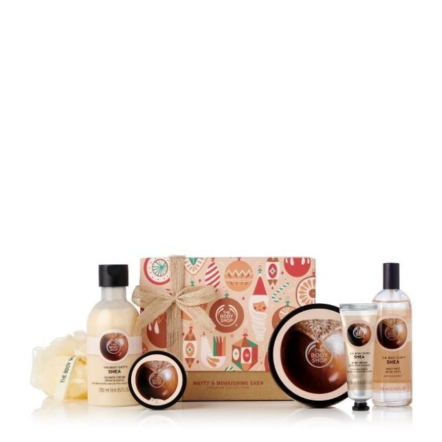 Set Gift Nutty & Nourishing Shea Premium Collection