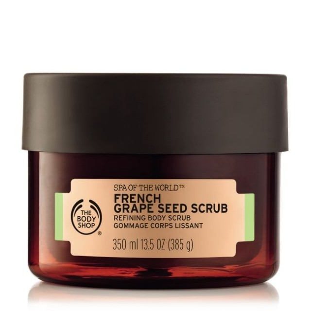 Exfoliant pentru corp Spa Of The World™  French Grape Seed