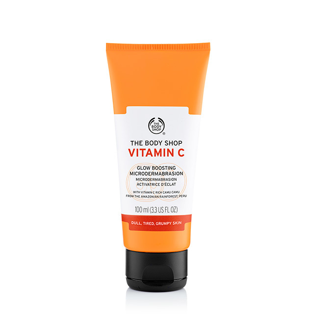 Gel microdermabraziune ten Vitamin C