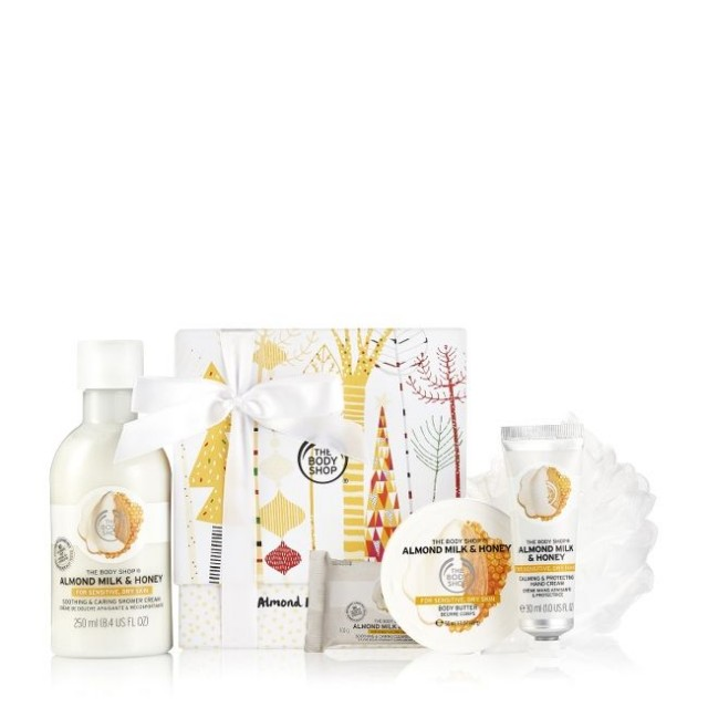 Set Gift Almond Milk & Honey Festive Picks