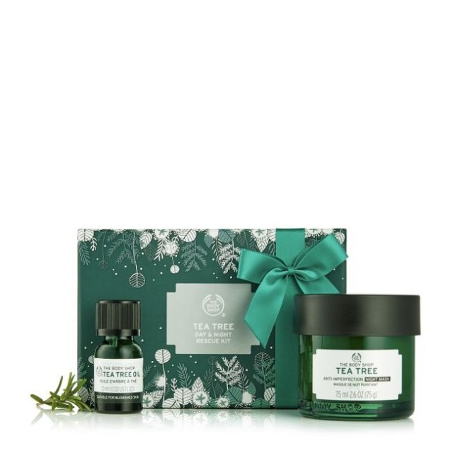 Set Gift Tea Tree Day & Night Rescue Kit
